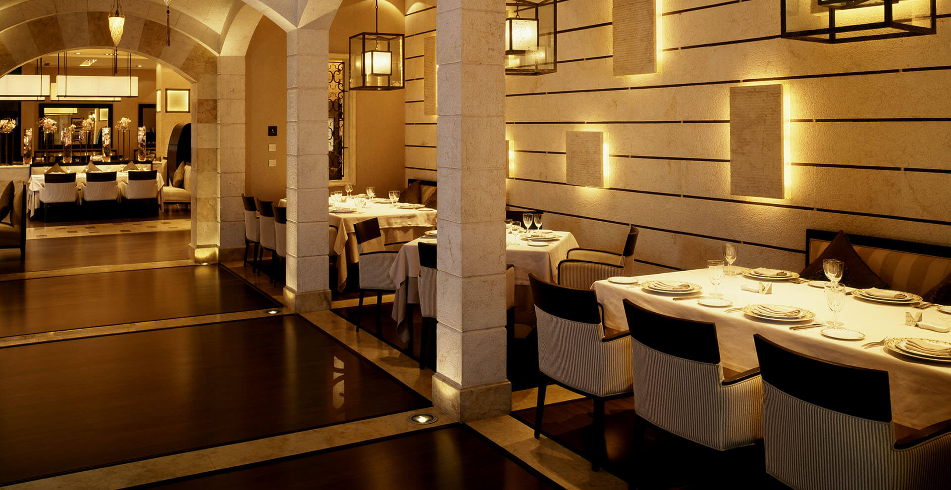 Montbel seating BYBLOS Lebanese Restaurant Jeddah